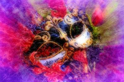 Mixed Media - Fantasy Eyes by Amanda Eberly-Kudamik