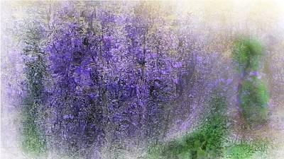 Digital Art - Fantasy Floral 07-10-17 by David Lane