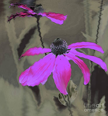 Photograph - Fantasy Flower I by Karen Lewis