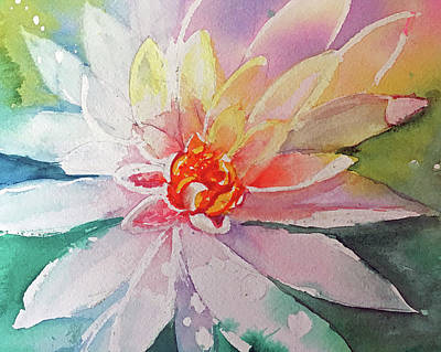 Painting - Fantasy Flower by Lynne Atwood