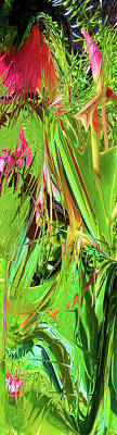 Photograph - Fantasy Garden Abstract by Carolyn Repka