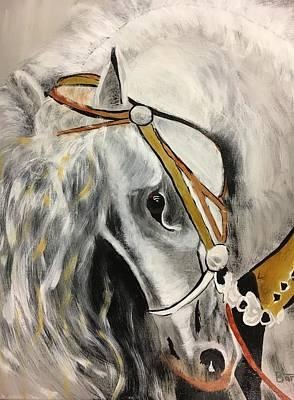 Painting - Fantasy Horse by David Bartsch