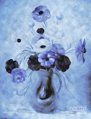 Painting - Fantasy In Blue by Hazel Holland