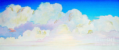 Fantasy In The Clouds Original by Jerome Stumphauzer