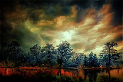 Digital Art - Fantasy Landscape 3 by Lilia D