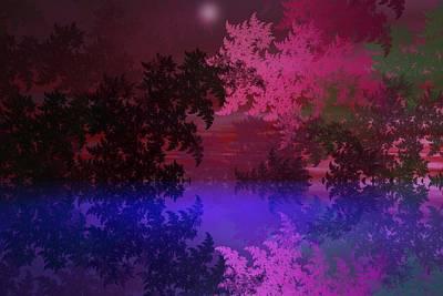 Digital Art - Fantasy Landscape by David Lane