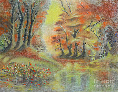 Pastel - Fantasy Landscape by Gary Renegar