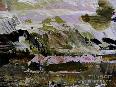 Painting - Fantasy Mountains by Nancy Kane Chapman
