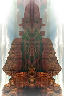 Digital Art - Fantasy Shrine 02 by Scott McAllister