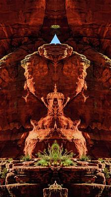 Digital Art - Fantasy Shrine 03 by Scott McAllister