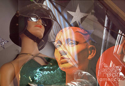 Photograph - fantasy surrealism photographs - Let's Go See America by Sharon Hudson