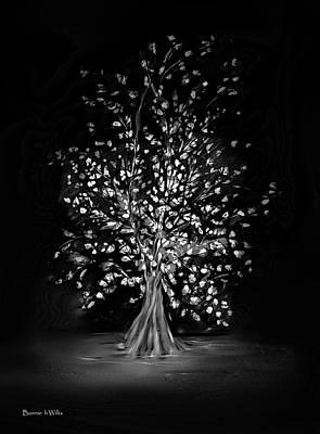 Digital Art - Fantasy Tree by Bonnie Willis