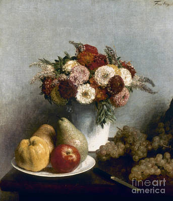 Photograph - Fantin-latour: Fruits, 1865 by Granger