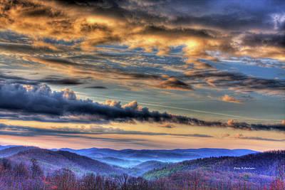 Photograph - Far Blue Mountains by Dale R Carlson