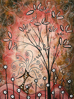 Fantasy Tree Art Painting - Far Far Away By Madart by Megan Duncanson