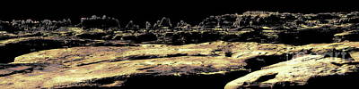 Digital Art - Far From The Sun Panorama by Tim Richards