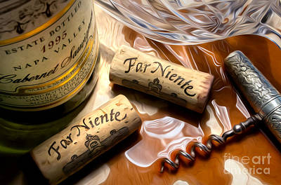 Nickel Photograph - Far Niente Uncorked by Jon Neidert