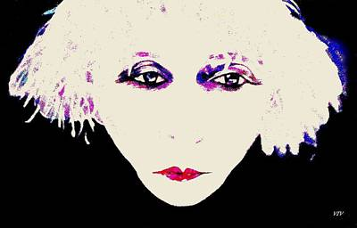 Painting - Far Out Colette by VIVA Anderson