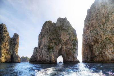 Napoli Photograph - Faraglioni - Capri by Joana Kruse