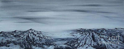 Painting - Faraway. by Kenneth Clarke