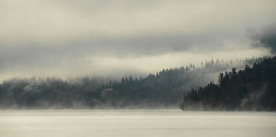 Photograph - Faraway Misty Mountains by Whispering Peaks Photography