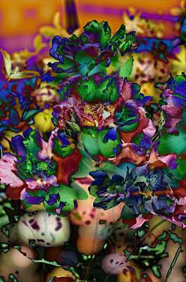 Photograph - Floral Bush by Thom Zehrfeld