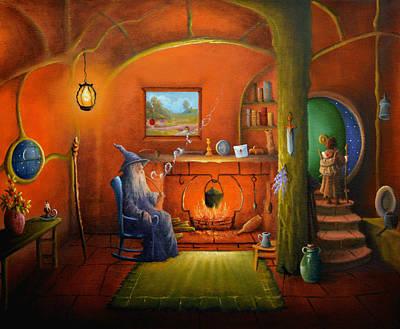 Painting - Farewell Old Friend. by Joe Gilronan