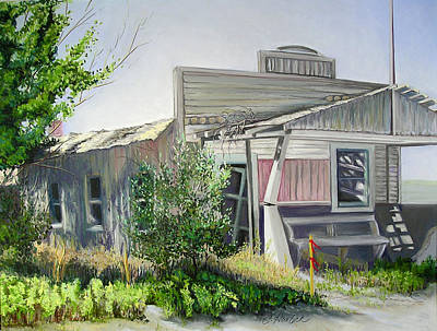 Pastel - Farewell To Deerfield by Carole Haslock