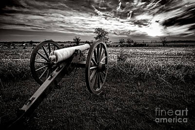 Civil War Site Photograph - Farewell To Gettysburg by Olivier Le Queinec