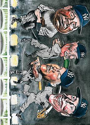 Mickey Mantle Digital Art - Farewell Yankee Stadium by Robert  Myers