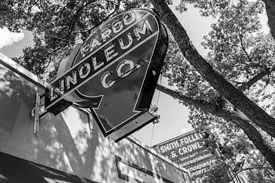 Linoleum Photograph - Fargo Linoleum Company by John McGraw