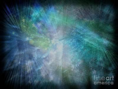 Digital Art - Farie Trails by Rachel Hannah