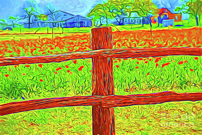 Painting - Farm 170 by Ray Shrewsberry