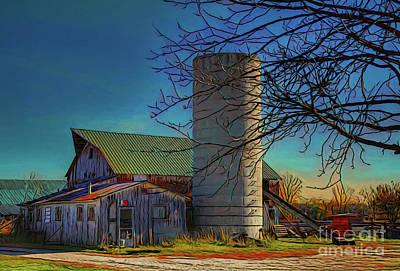 Photograph - Farm 19618 by Ray Shrewsberry