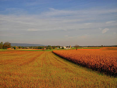 Photograph - Farm Along The Cumberland Valley Section Of The At by Raymond Salani III