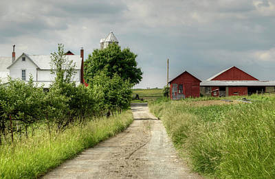 Photograph - Farm by Ann Bridges