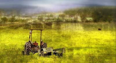 Photograph - Farm Art 001 by Kevin Chippindall