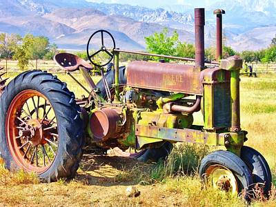Photograph - Farm Art by Marilyn Diaz