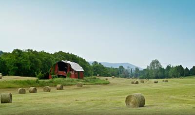 Photograph - Farm Barn Listing by Douglas Barnett