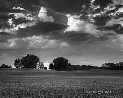 Photograph - Farm Before The Storm by Roman Wilshanetsky