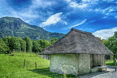 Photograph - Farm Building In Ballenberg Switzerland_dsc8253_16  by Greg Kluempers