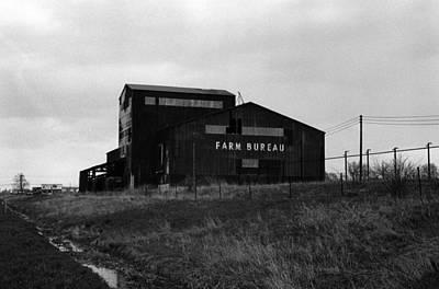 Farm Bureau Kalamazoo Michigan 1975 Art Print by Wayne Higgs