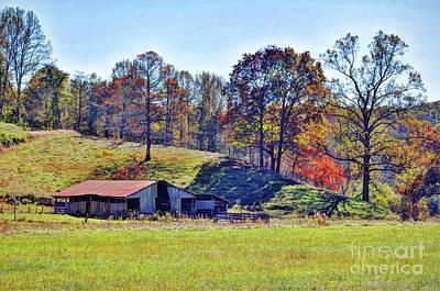 Farm Country Autumn Art Print