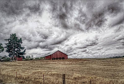 Photograph - Farm Country by Bonnie Bruno