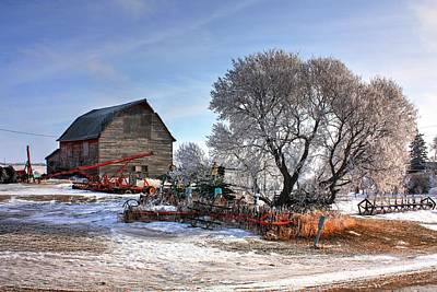 Photograph - Farm by David Matthews