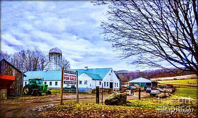 Farm Days Art Print by MaryLee Parker