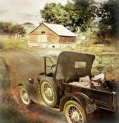 Farm Delivered Art Print