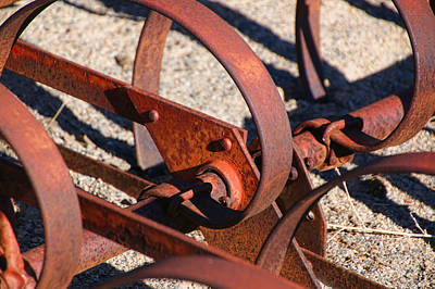 Photograph - Farm Equipment 4 by Ely Arsha