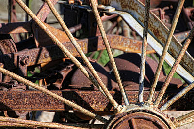 Photograph - Farm Equipment 5 by Ely Arsha
