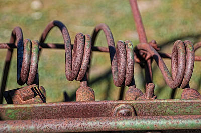 Photograph - Farm Equipment 7 by Ely Arsha
